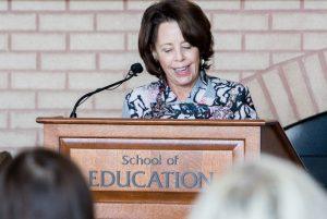 School of Education Dean Diana Hess